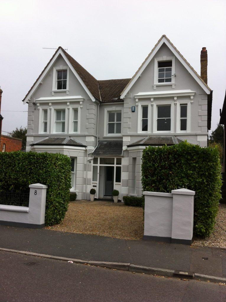 Exterior house painting sevenoaks painting company for Exterior house painting companies