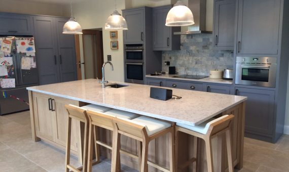 Painted Oak Kitchen