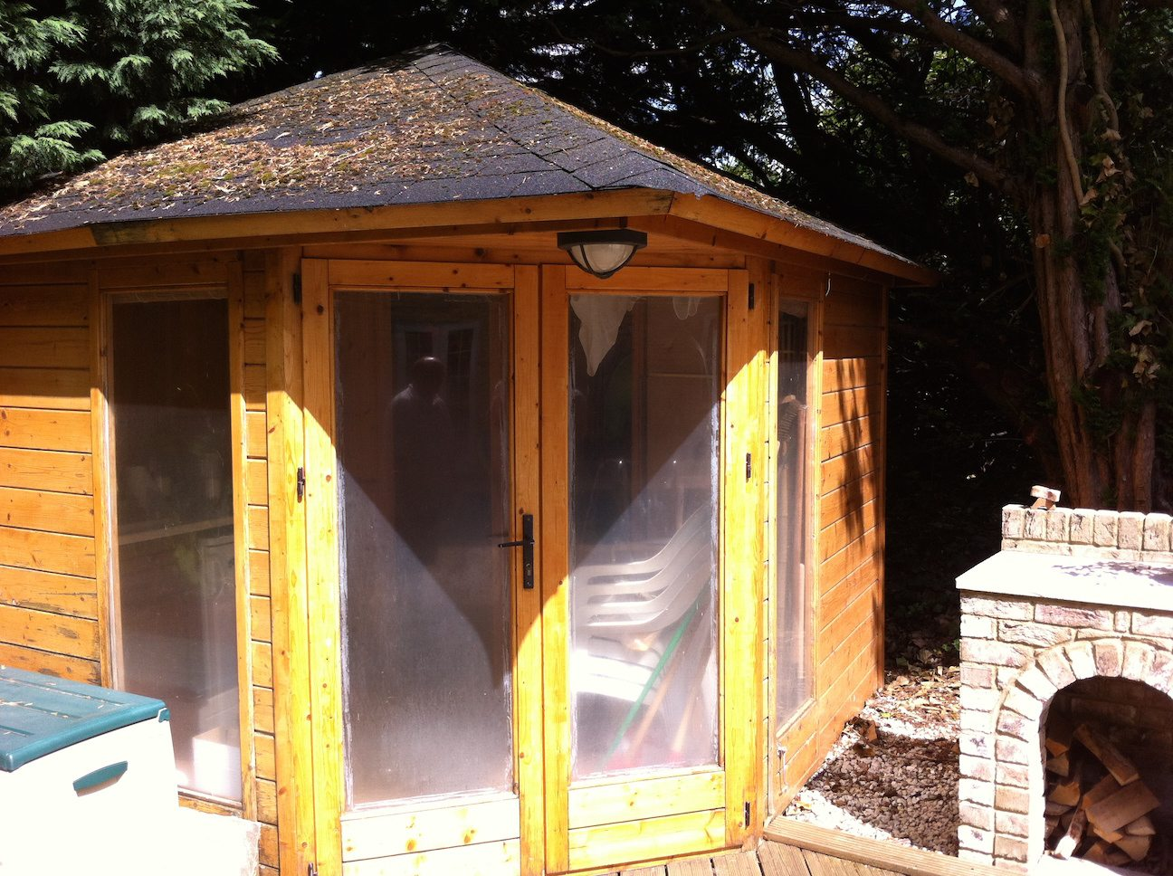 summerhouse painting
