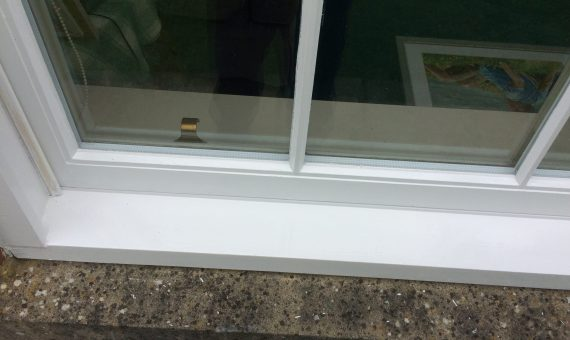Repainted Sash Windows