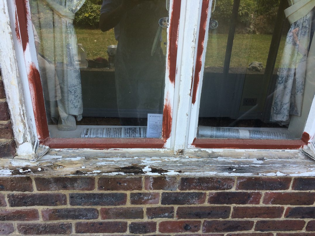 window frames repaired