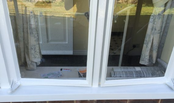 Restored Window Sills