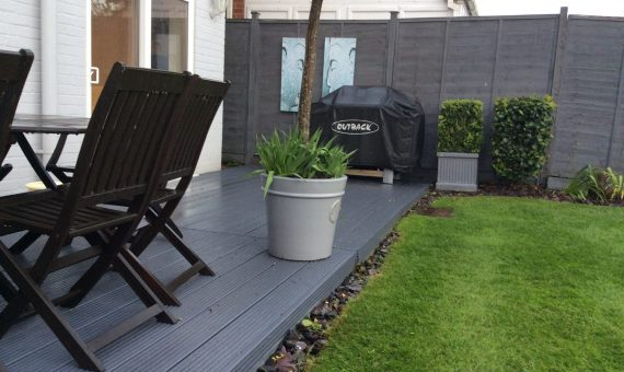 Painted Decking & Fencing
